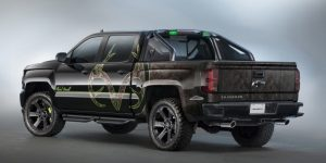 10) Chevrolet Silverado High Country