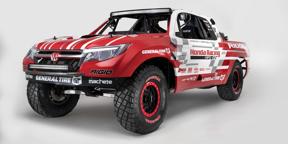 6) Honda Ridgeline Baja Racer