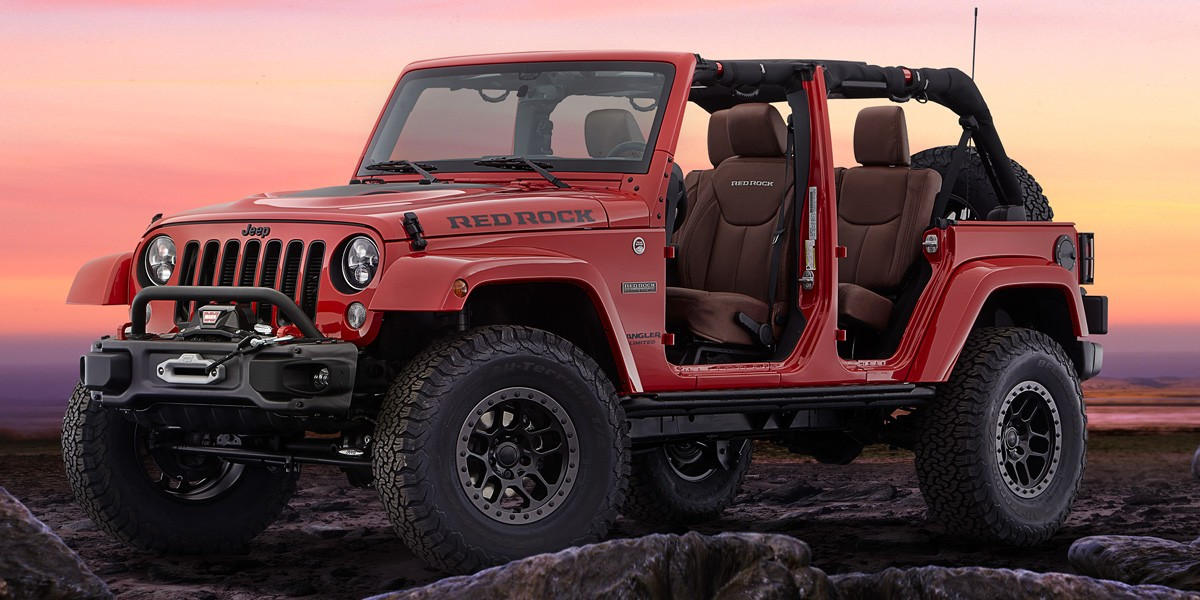 11) Jeep Wrangler Red Rock