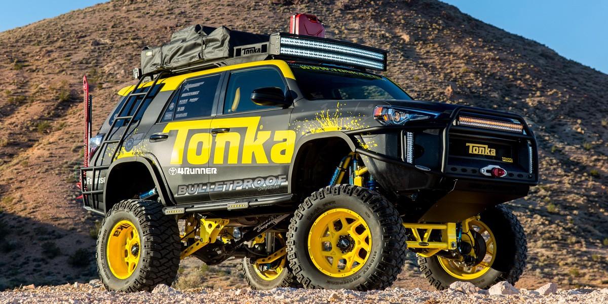 2) Toyota Tonka 4Runner