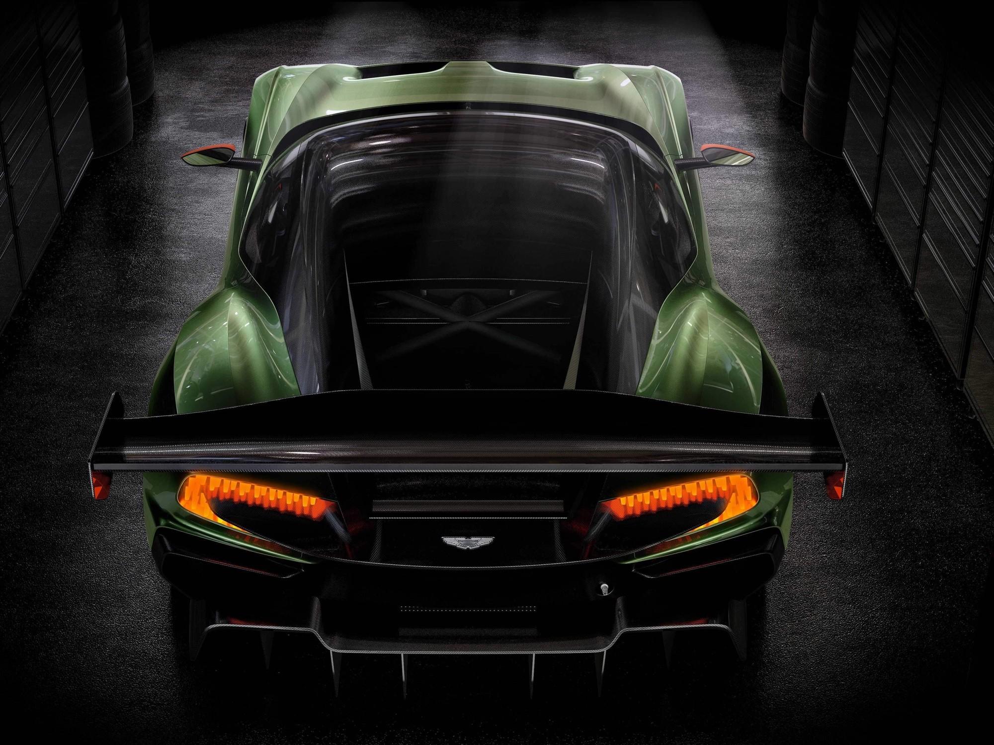 Aston Martin Vulcan суперкар скачать