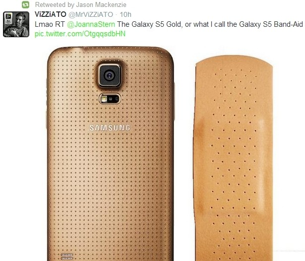 HTC-Samsung-Galaxy-S5-gold-band-aid
