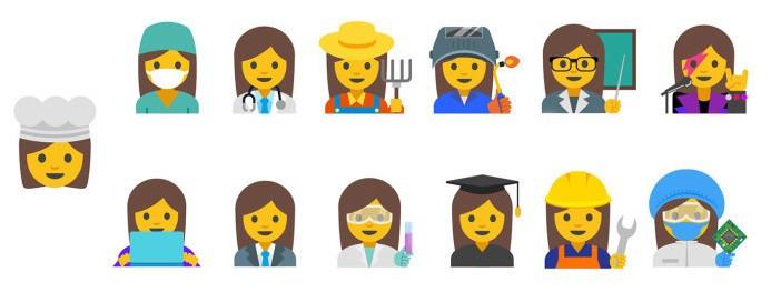 google-emoji-women