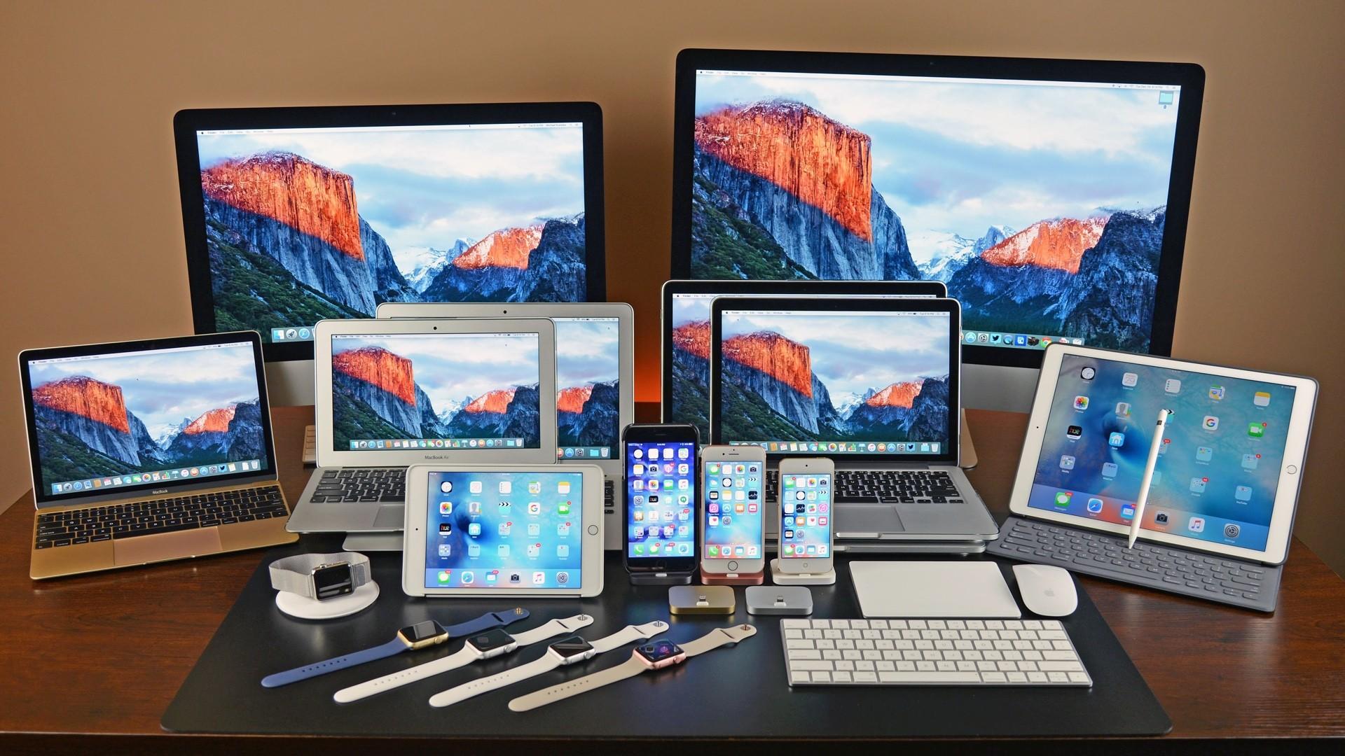 смесь все продукты эппл фото архитектура