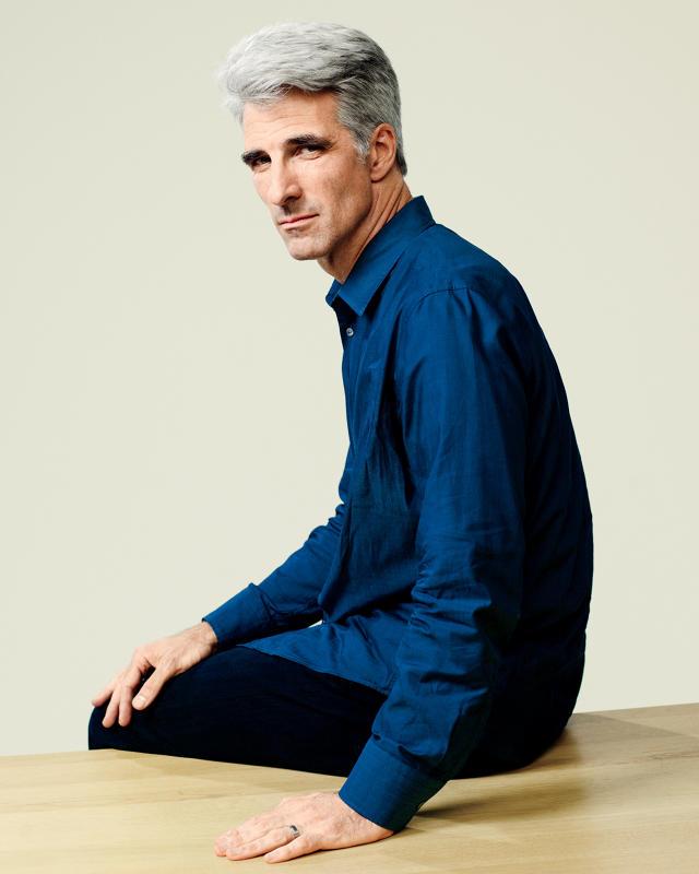 Крейг Федериги, старший вице-президент Apple по разработке софта