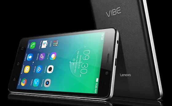 Lenovo Vibe P1m black phone