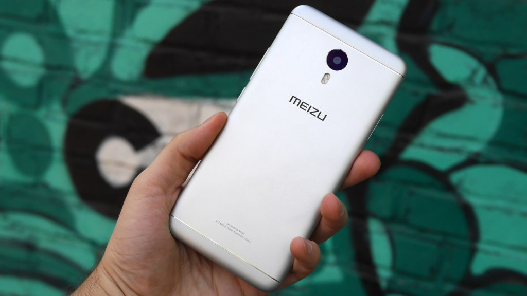 Meizu M3 Note steel silver phone