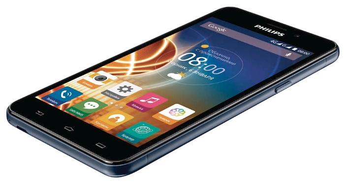 Philips Xenium V526 dark phone