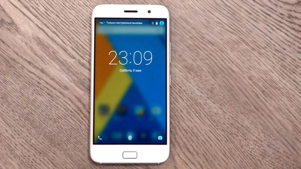ZUK Z1 white phone