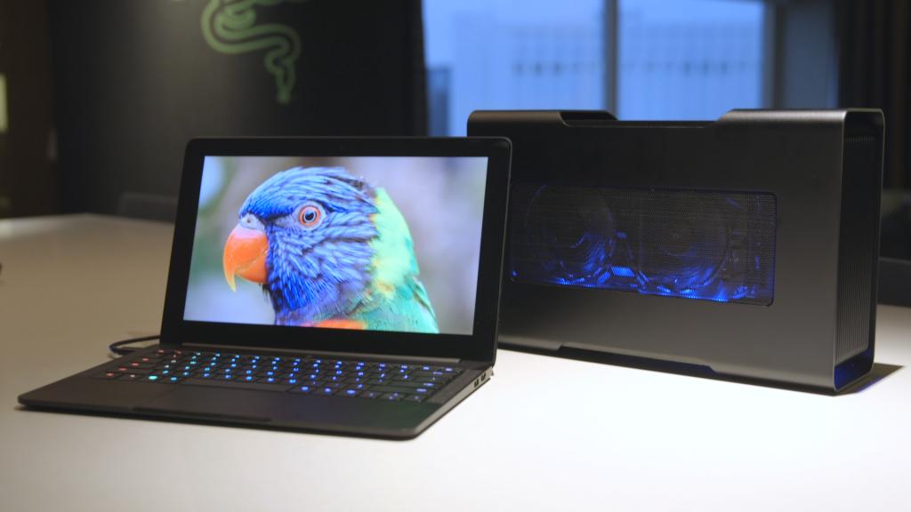 Ноутбук Razer с внешней видеокартой