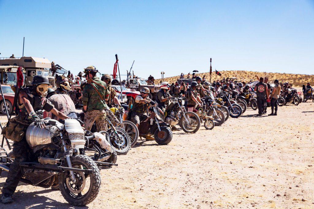 Мотоциклисты тоже приехали на шоу