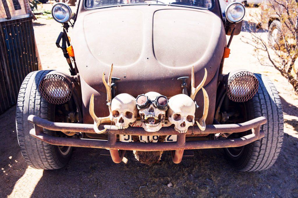 Череп - лучший способ украсить машину