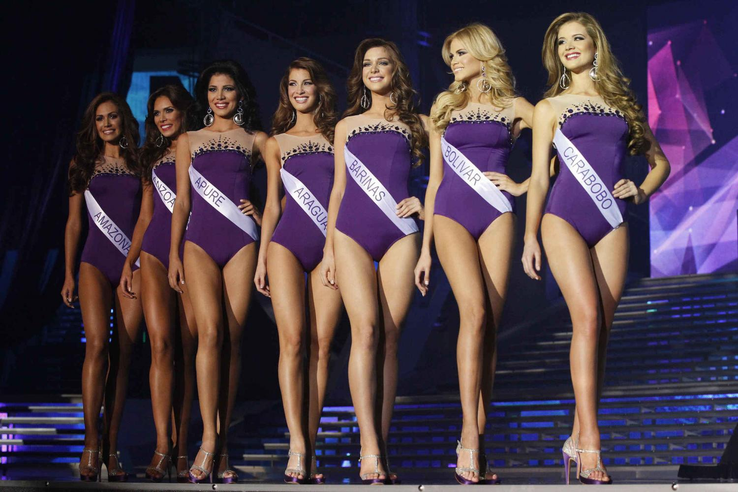 beauty contest is really degrading the women The women in the pageants are not just lovely they are smart too they do not look sickly they look healthy i really think that the only part of it that is degrading is the swimsuit competition the truth is that the woman degrades herself by choosing to participate in the beauty contest.