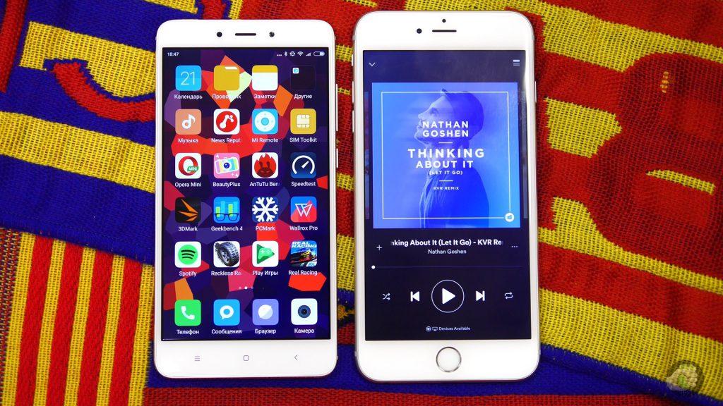 Xiaomi вообще не конкурент Apple, просто картинка для сравнения размеров.
