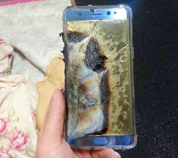 samsung-galaxy-note-7-explode-pictures-exploding-charging-charge-online-galaxy-note-7-explode-refund-full-refund-exchange-for-an-649235