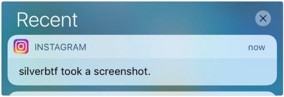 Instagram предупредит о том, что кто-то делает скриншоты переписки