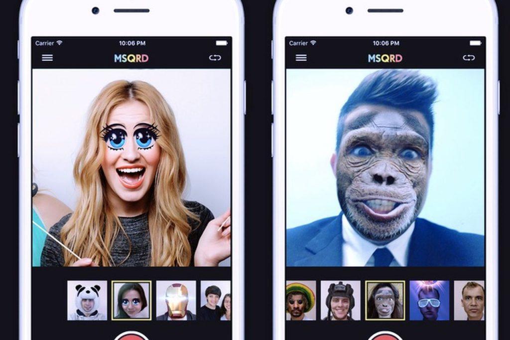 Смена лиц на фото для айфон приложение