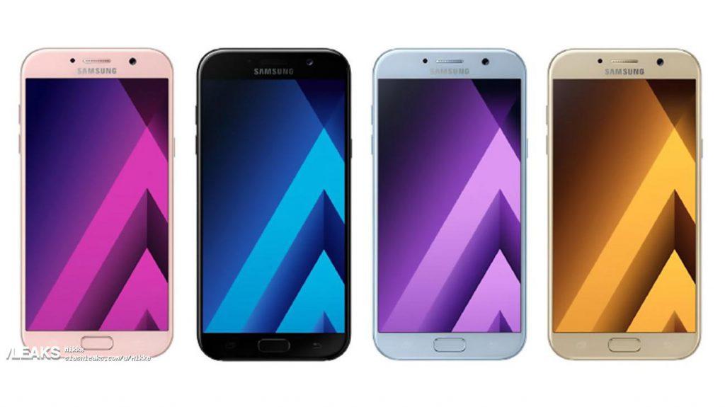 Samsung Galaxy A5 (2017) уже в интернете, как вам дизайн?