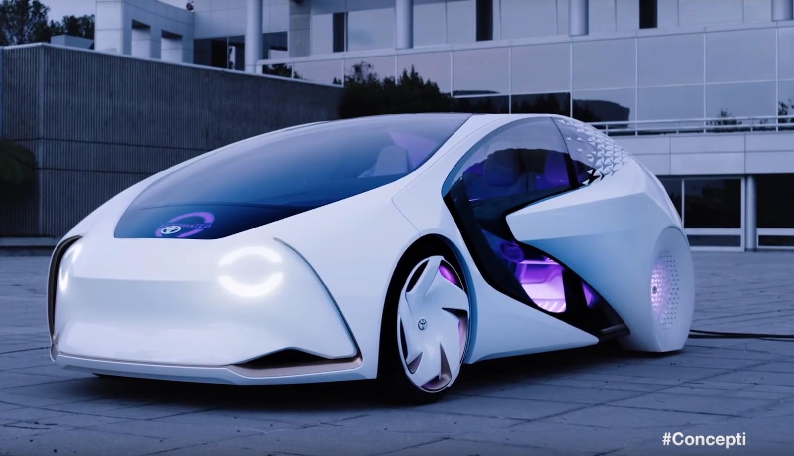 Тачка из далекого будущего уже тут — Toyta Concept-i