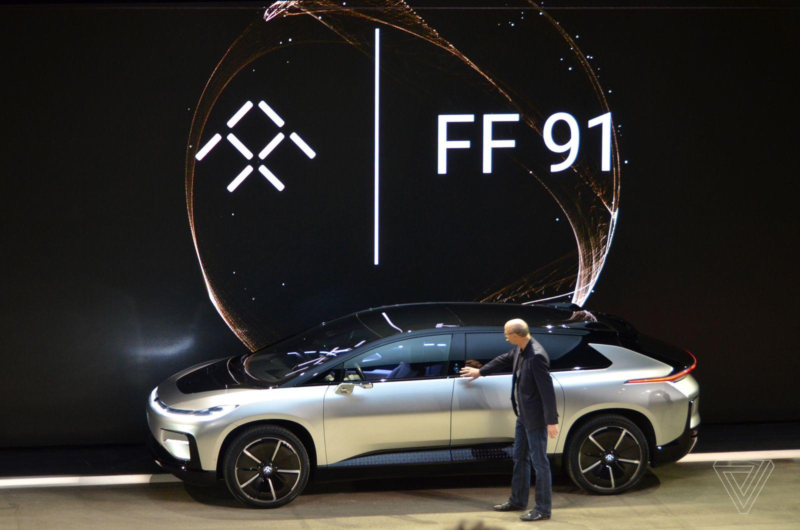 Faraday Future анонсировали свой автомобиль, но его навряд ли купят