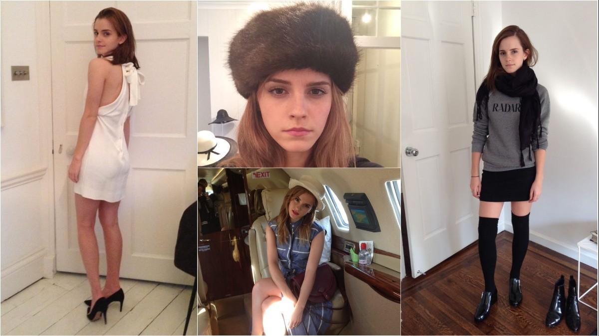 Хакеры выложили личные фото Эммы Уотсон и обещают ... эмма уотсон инстаграм