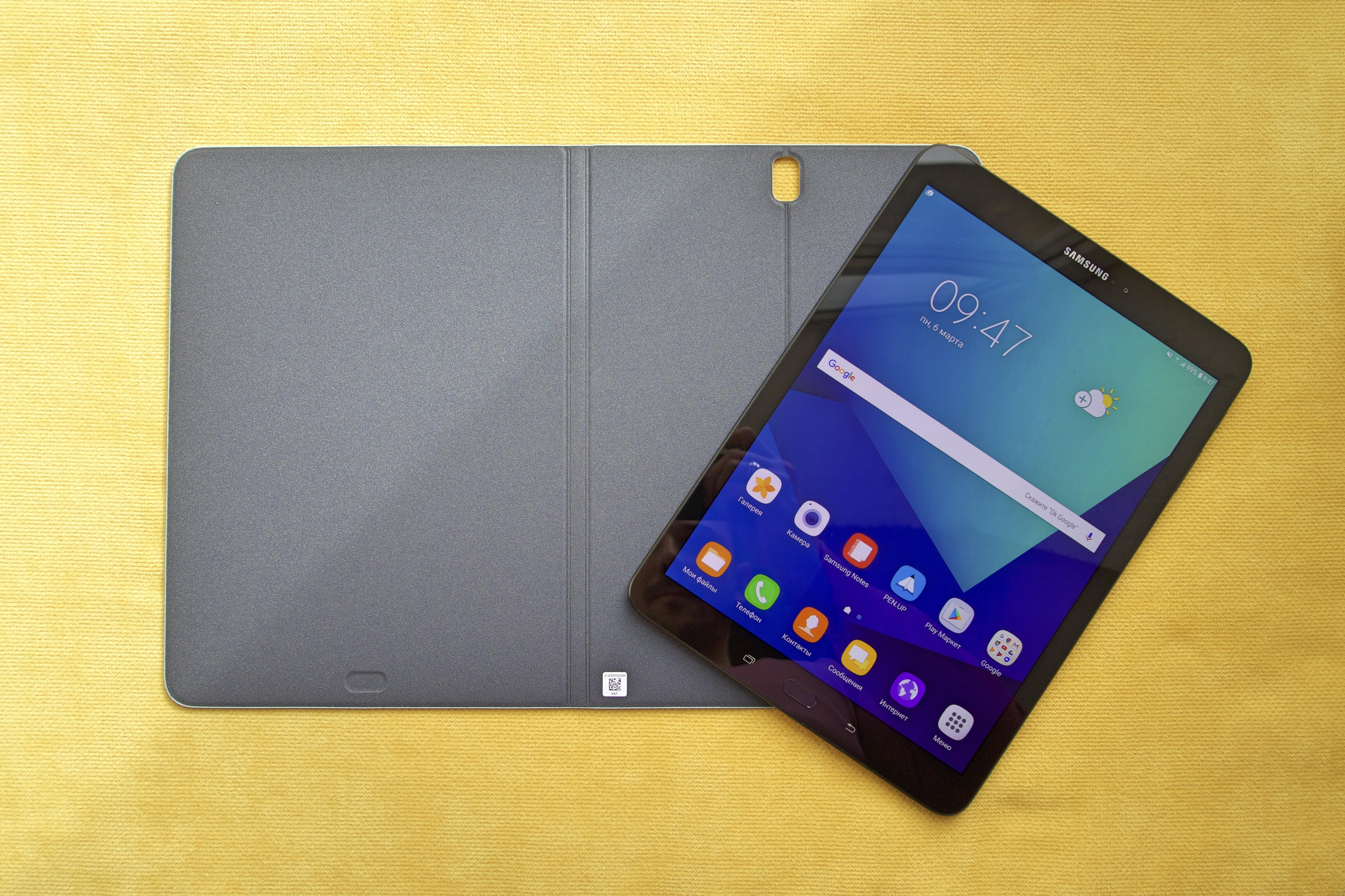 Обзор Samsung Galaxy Tab S3 2017
