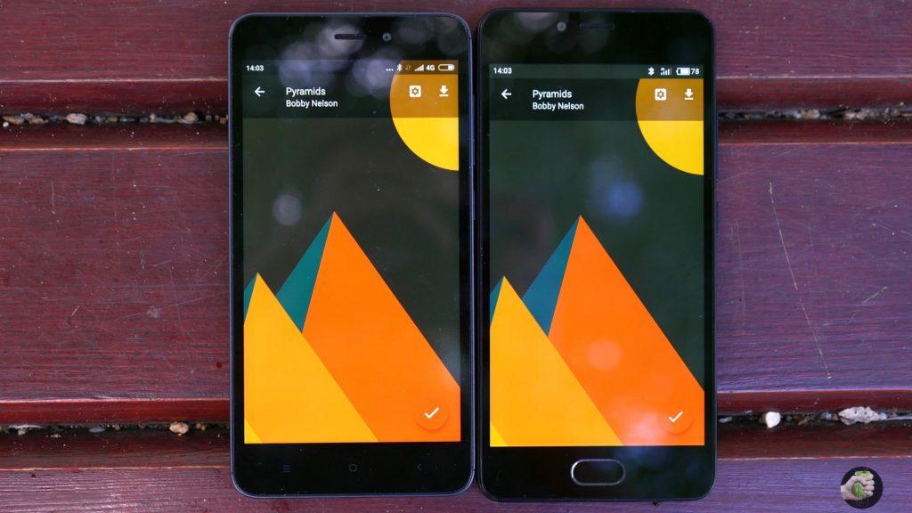 Хорошие экраны у Meizu M5c и Xiaomi Redmi 4A