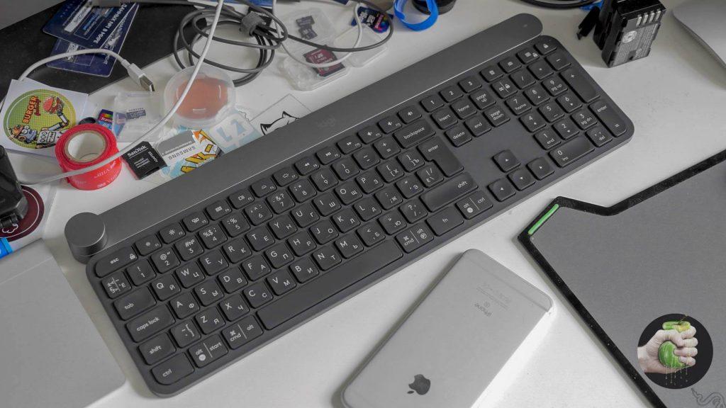 Красивая, удобная и комфортная клавиатура Logitech Craft
