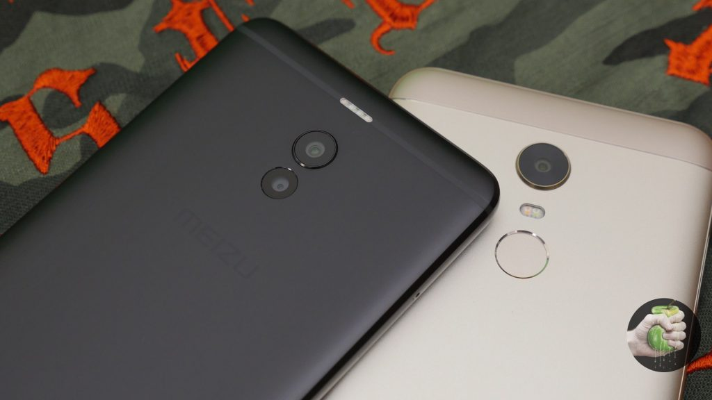 Meizu M6 Note рядом с Xiaomi Redmi 5 Plus