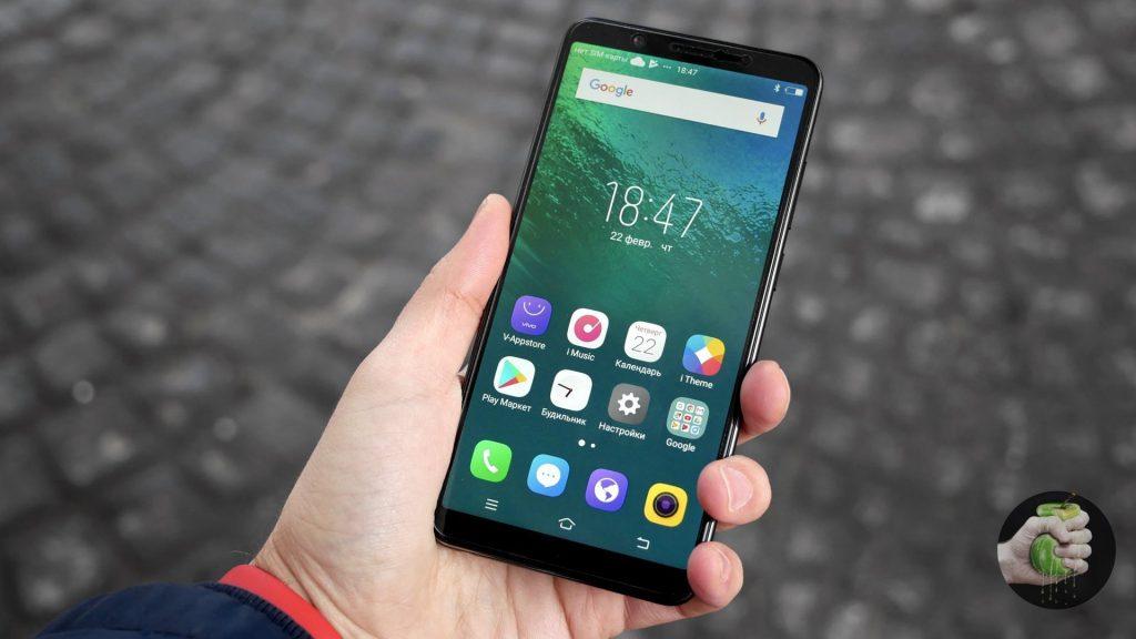 Удобный смартфон Vivo V7