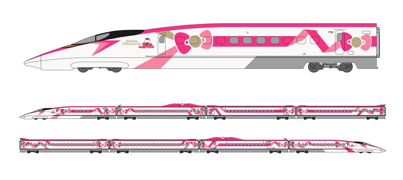 В Японии запустят милый поезд Hello Kitty — Wylsacom