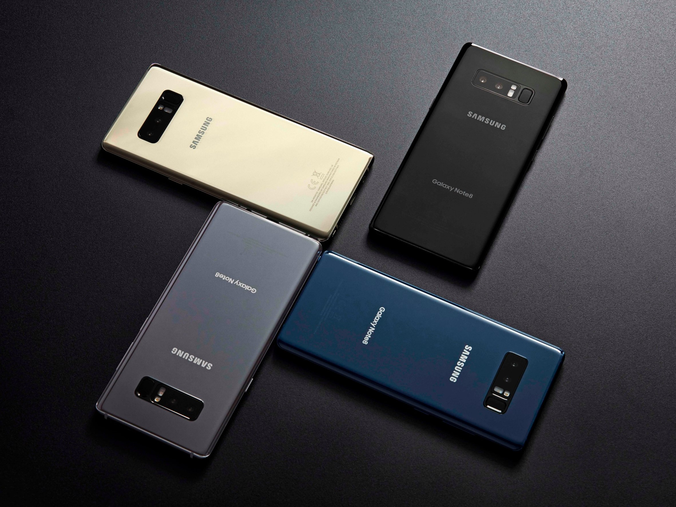 Samsung Galaxy Note 8, Samsung Galaxy Note 9