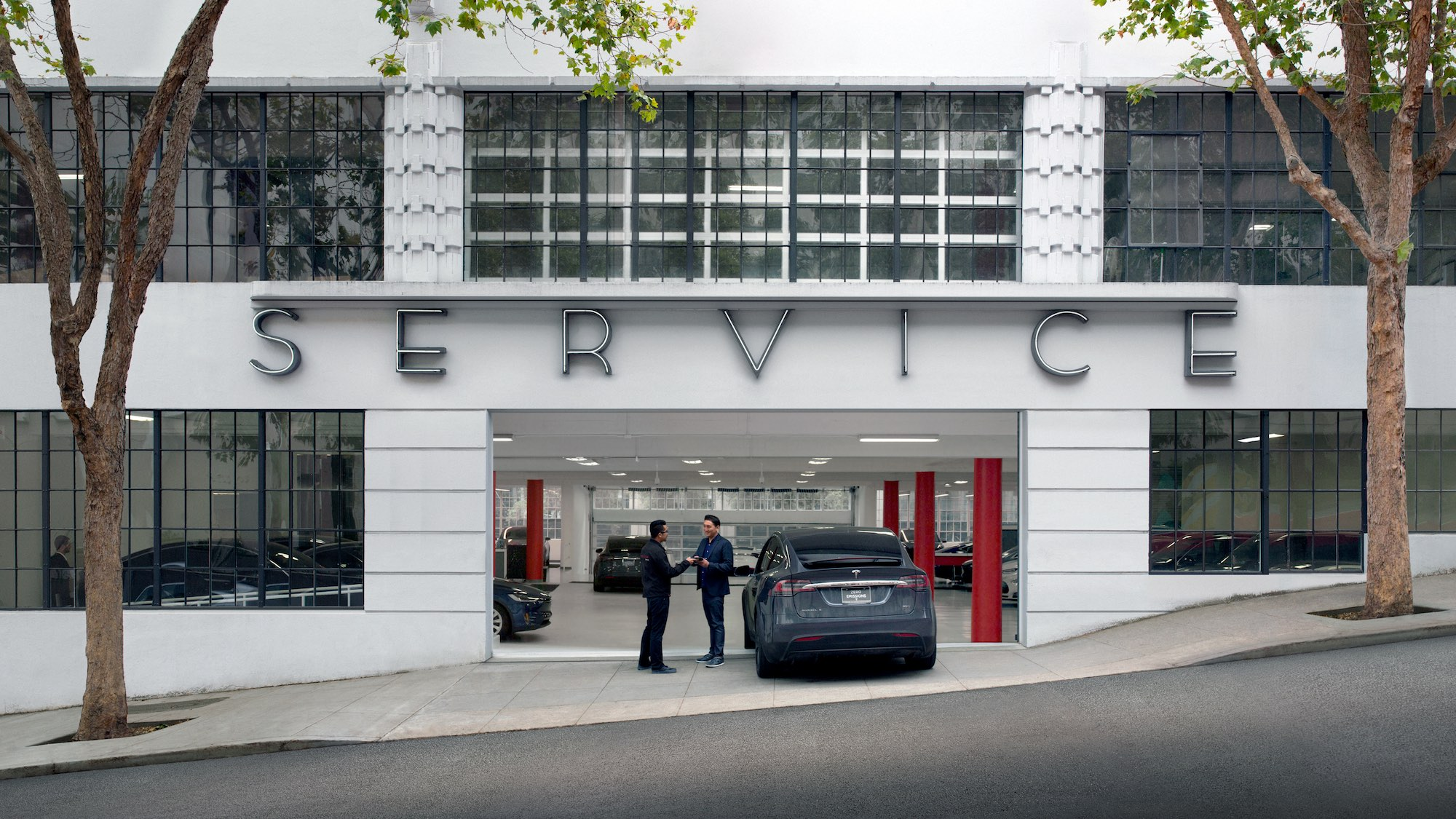 сервис Tesla