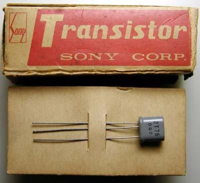 Sony транзистор