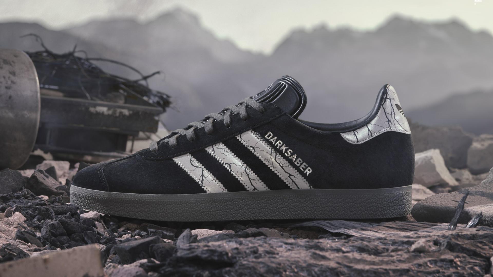 Adidas представила кеды Gazelle, посвящённые «Звёздным войнам»