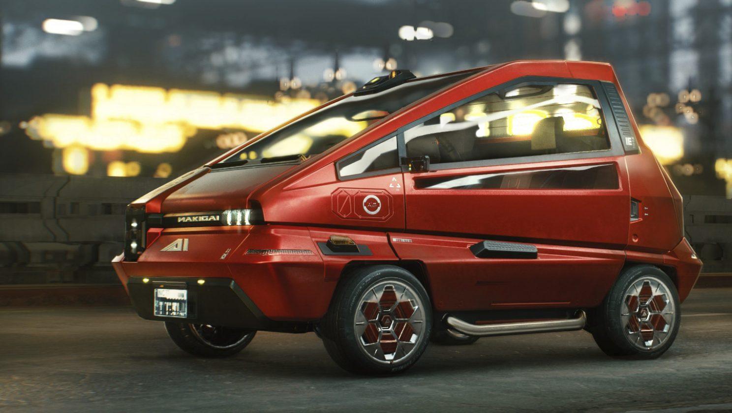 cyber car 1
