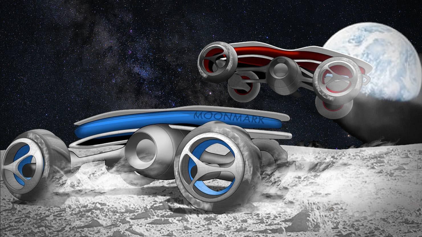 На Луне состоятся гонки нарадиоуправляемых машинках