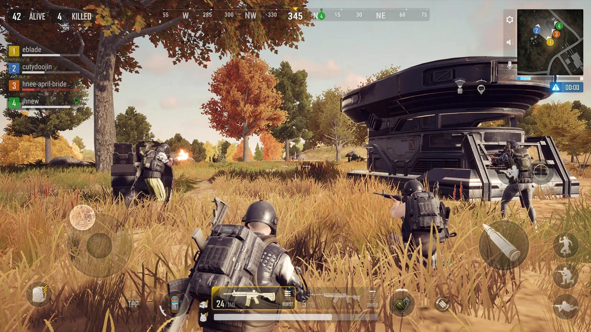 PUBG: New State - новый футуристический мобильный Battle Royale