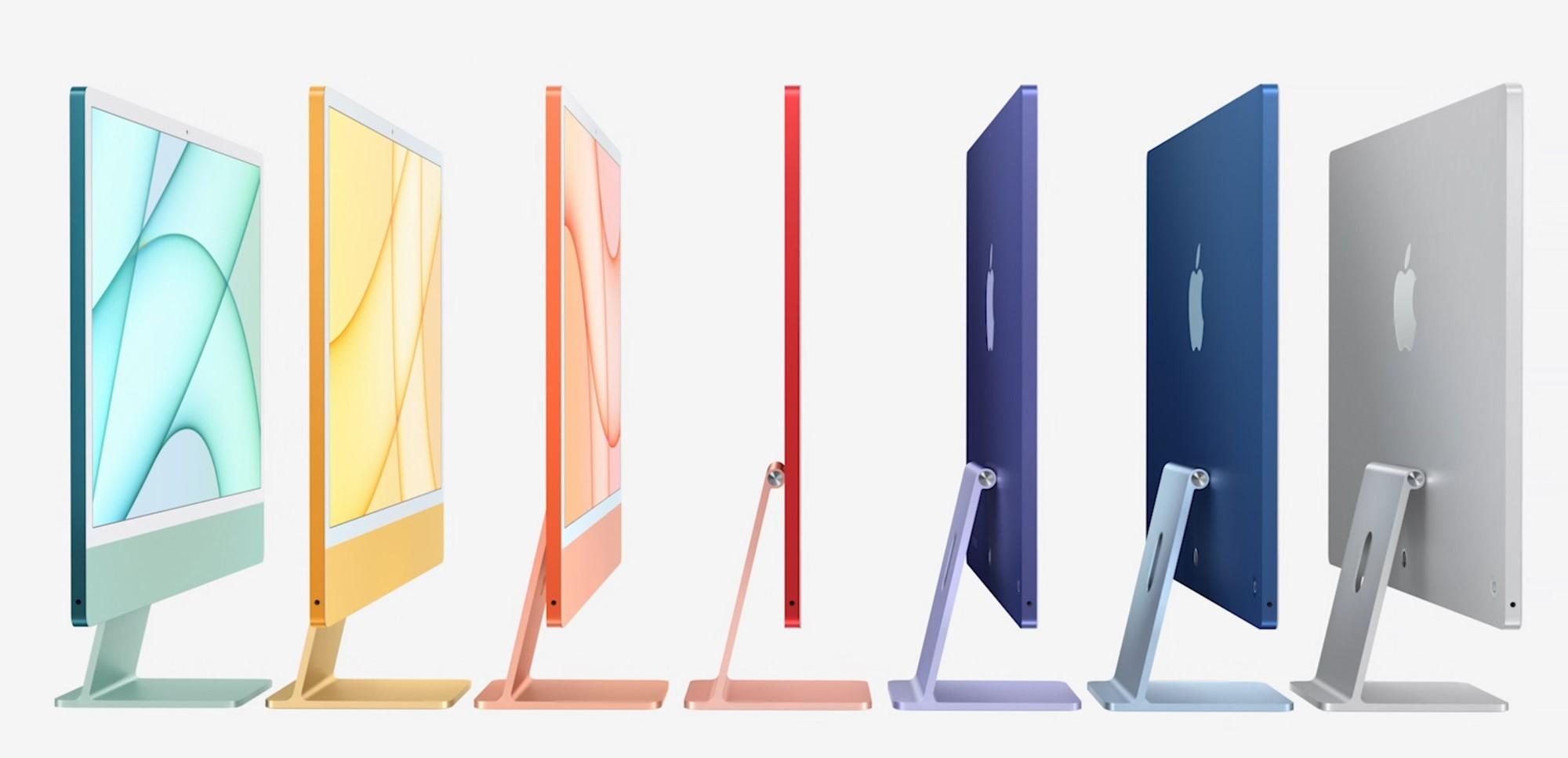 Apple анонсировала цветные iMac в новом дизайне — Wylsacom