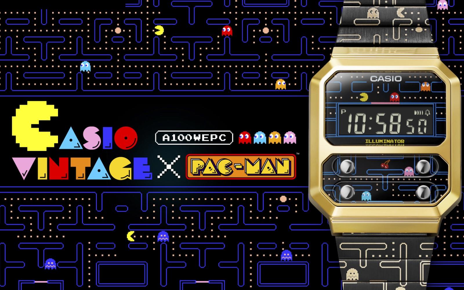 Casio Vintage x PAC-MAN — новая коллаборация