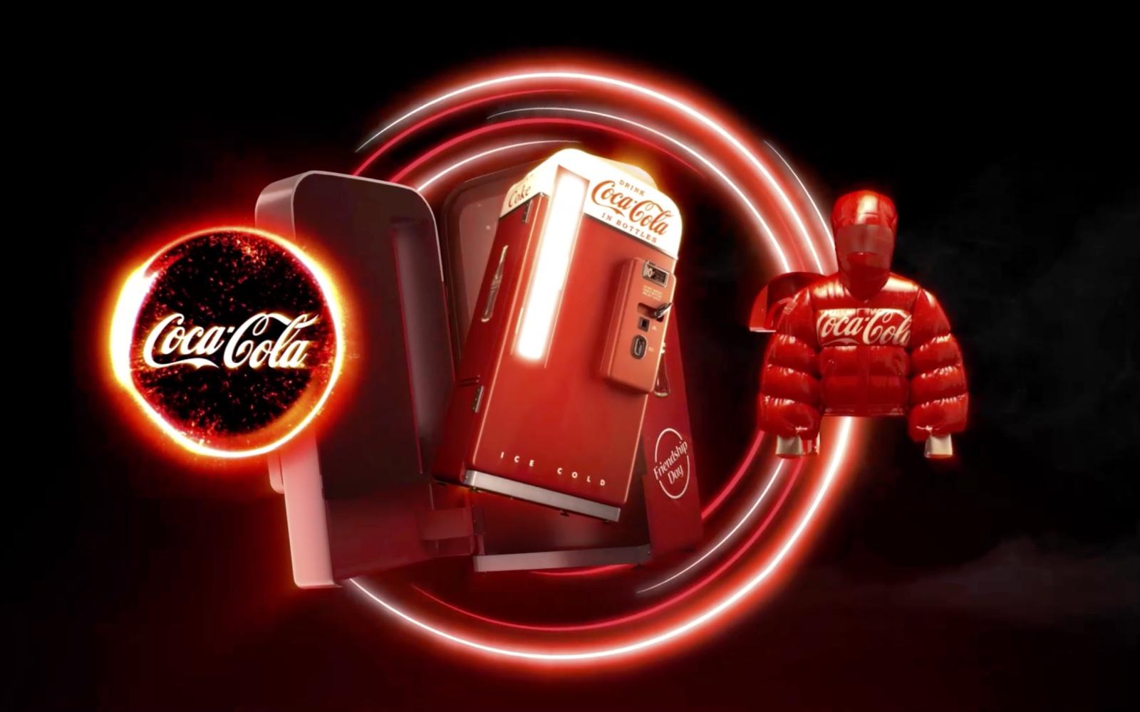 Coca-Cola запустила первую коллекцию NFT-продуктов