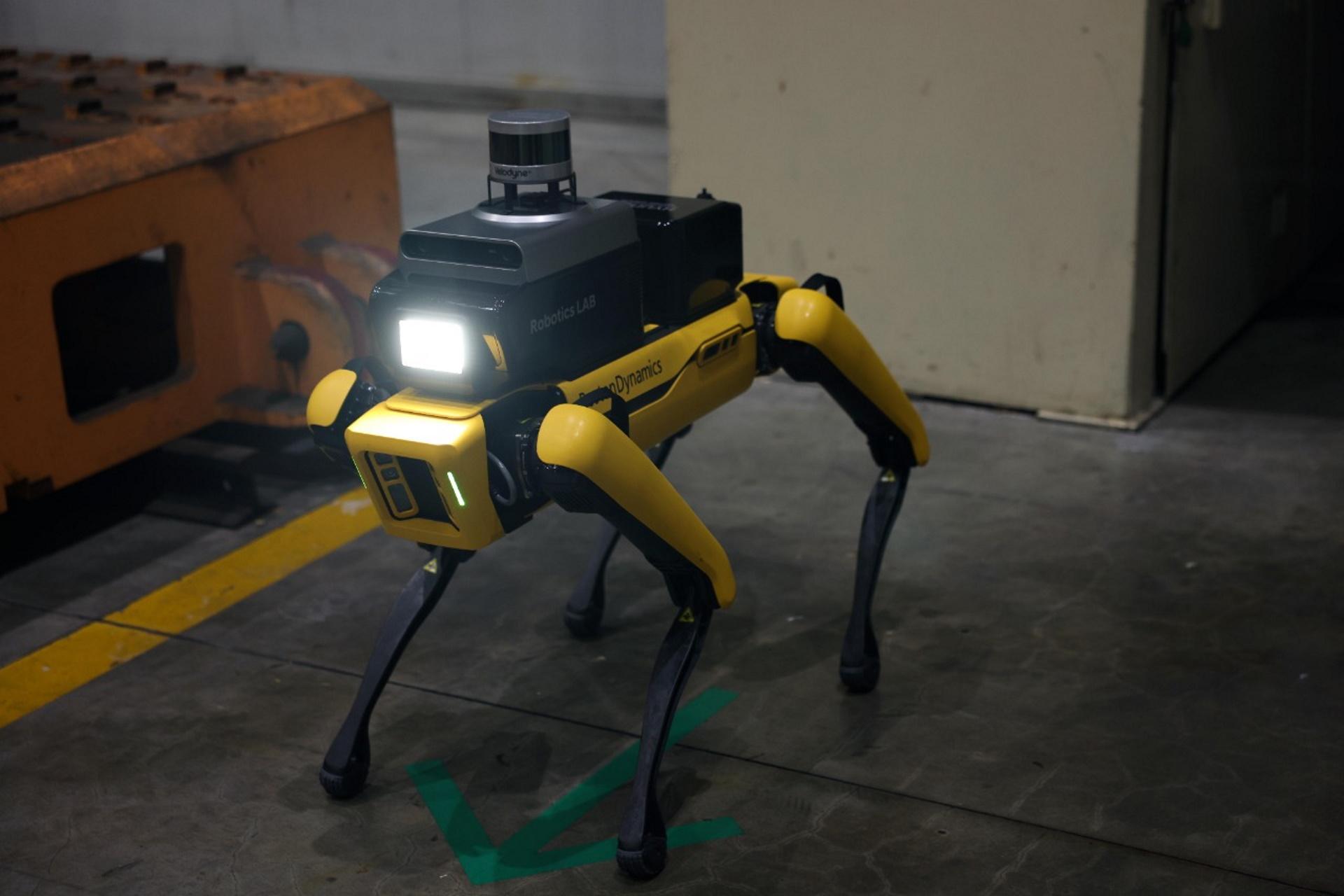 Hyundai начала использовать роботов Boston Dynamics вместо охранников